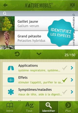 Plantes Médicinales PRO - NATURE MOBILECapture d'écran de 3