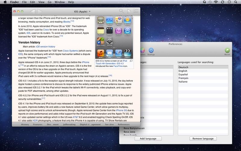 Screenshot #2 pour WikiBuddy