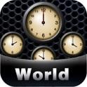World Alarm Clock Pro icon