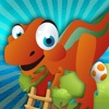 The fantastic dinosaur eggs dropping to the cozy nest - Free Edition