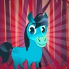 Cute Fun Pony Run - My Little Happy Baby Horse and Angry Bird Running Game