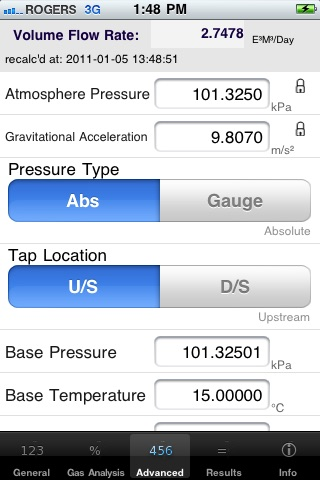 Screenshot of GasFlow