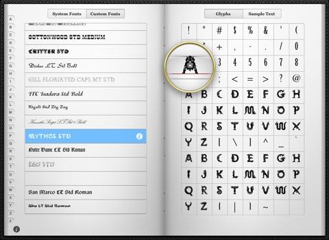 字体预览:Font Tome【设计师常备】