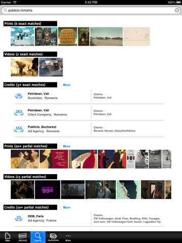 Lürzer's ARCHIVE for iPad screenshot 1