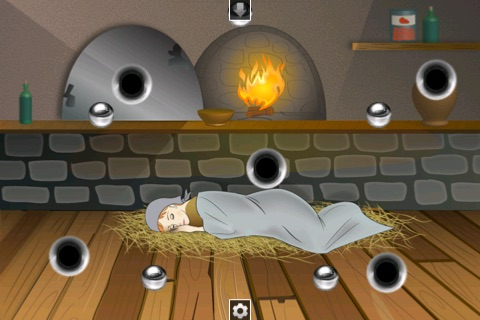 Ball Puzzle Cinderella - Imagination Stairs - ball game app screenshot 3