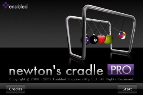 Newton's Cradle Pro screenshot 1