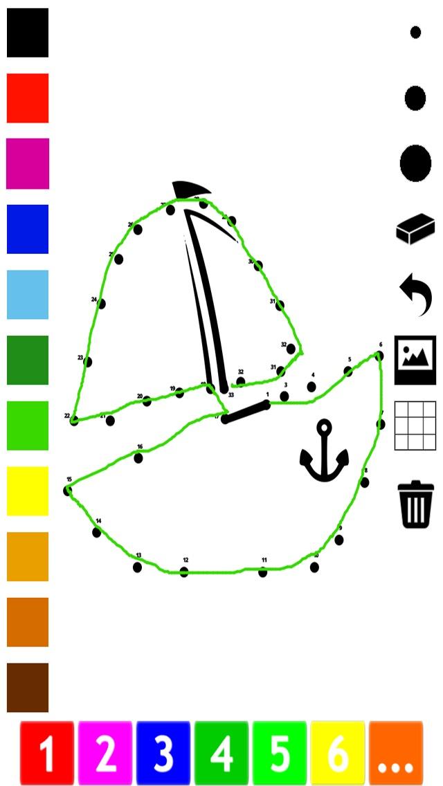 子どもたちのための番号でペイント。 塗り絵、 動物、象、キツネ、コアラ、ライオン、豚やウサギドット、ゲームや演習を接続します。学ぶためのゲームやパズル、塗料や カウントのおすすめ画像2
