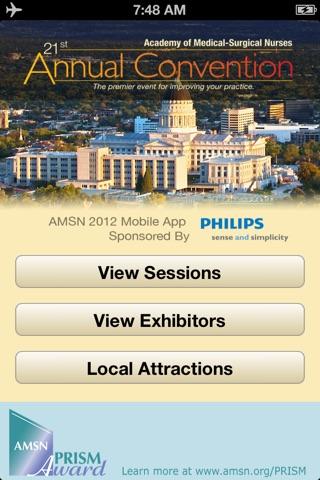 AMSN 2012 screenshot 1