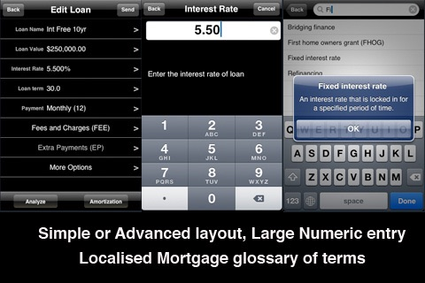 iHome - Loan, Mortgage and Property Tools screenshot 4