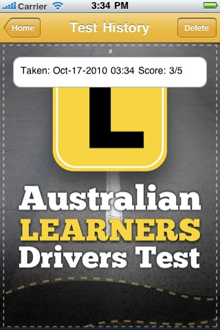Australian Learner Drivers Test screenshot 4