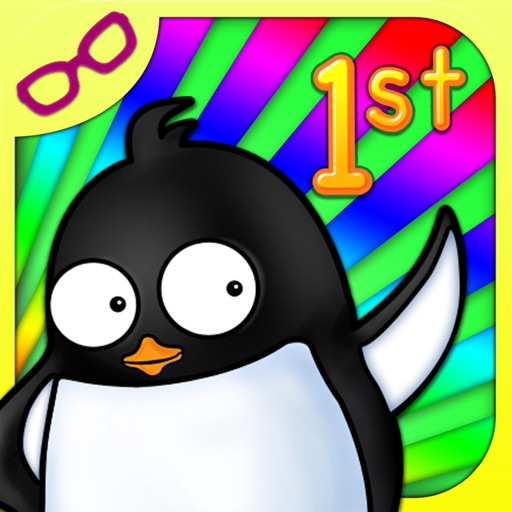 Penguin First Grade: Math, Reading, Time & Geometry Learning Game iOS App