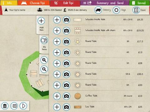 Invent a Tent - Tap out a Tipi screenshot 3