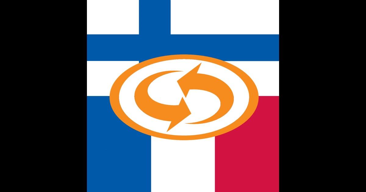 Suomi - ranska - suomi sanakirja on the App Store