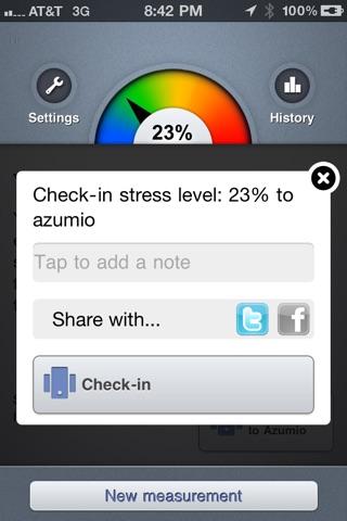 Stress Check Pro by Azumio Screenshot 4