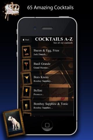 London Cocktail Club screenshot 2