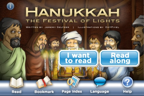 Hanukkah: The Festival of Lights StoryChimes screenshot 1