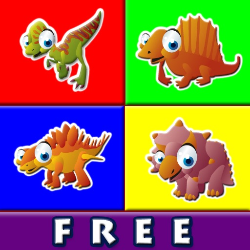 Abby Connect the Dots - Dinosaurs Free Lite iOS App