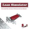 A calculadora do empréstimo, crédito, simular seus reembolsos