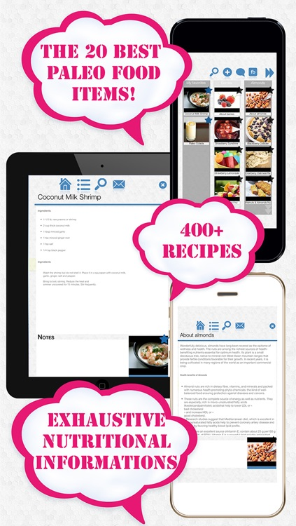 The 20 best paleo foods app cookbook with more than 400 recipes the 20 best paleo foods app cookbook with more than 400 recipes for the caveman malvernweather Gallery