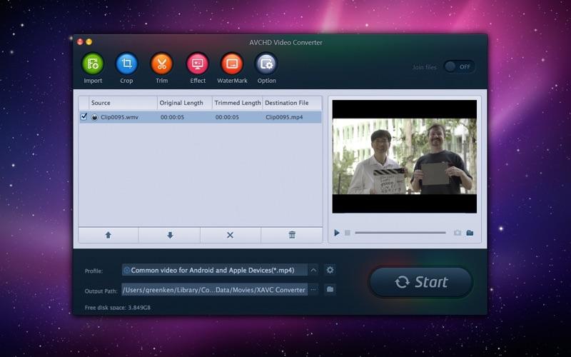 AVCHD Video Converter Screenshot - 2
