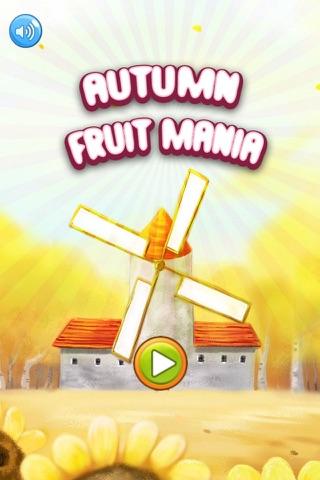 Autumn Fruits Mania screenshot 1