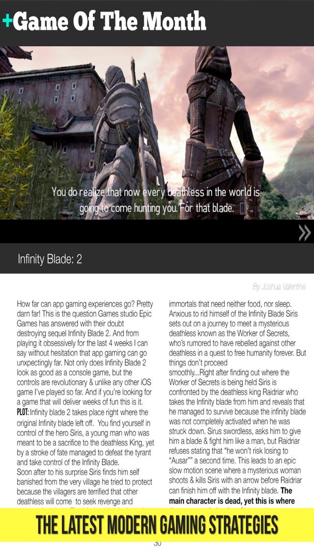 App Gamer Magazine - ... screenshot1
