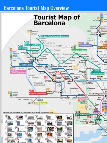 Barcelona Travel Guide And Offline Map Metro Barcelona Subway - Barcelona map guide