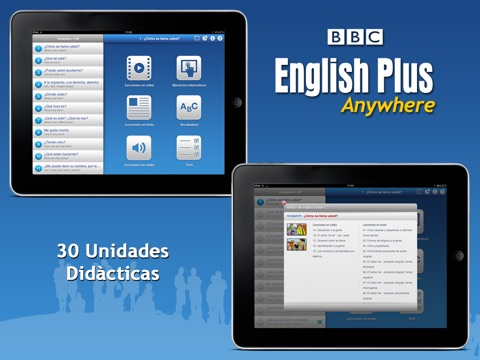 BBC English Plus Anywhere (Español) screenshot 1