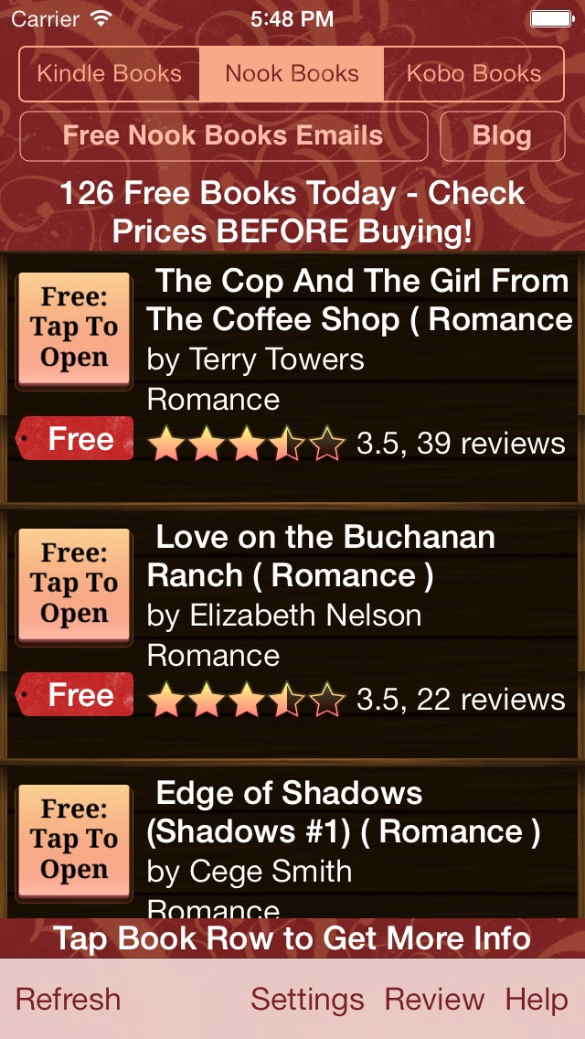 download Free Books for Kindle, Free Books for Nook, Free Books for Kobo - Free Books Monster apps 3