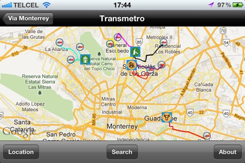 Via Monterrey Free screenshot 1