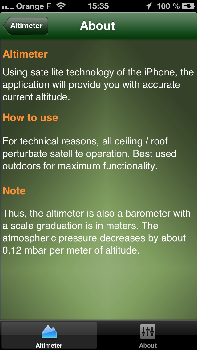 download Altimeter : Accurate GPS - HD apps 2