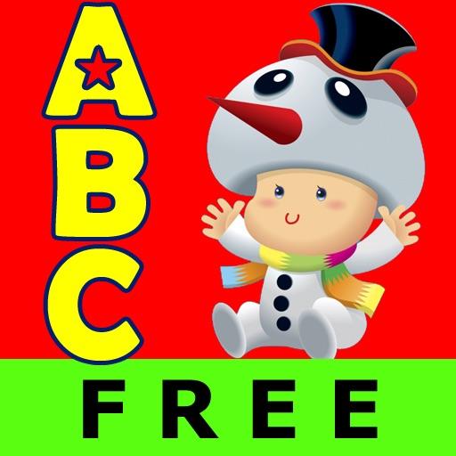 Abc Christmas Nursery Rhymes Free Lite Talking Voice Alphabet Flashcards Kids Icon