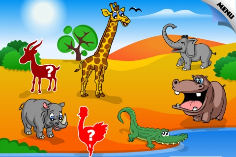 Abby - Animal Preschool Shape Puzzle Free - First Word (Farm Animals, ZOO...) screenshot 2