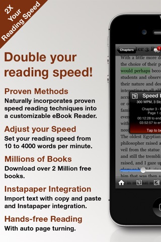 QuickReader - Speed Reading screenshot 1