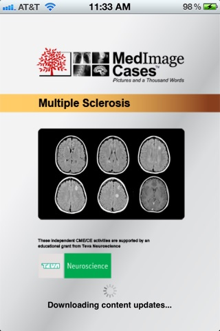 Multiple Sclerosis - MedImage Cases screenshot 3