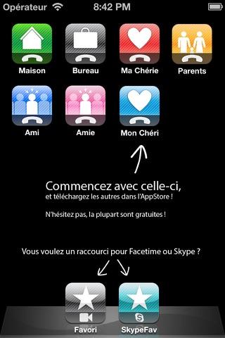Call Mon Chéri screenshot 1