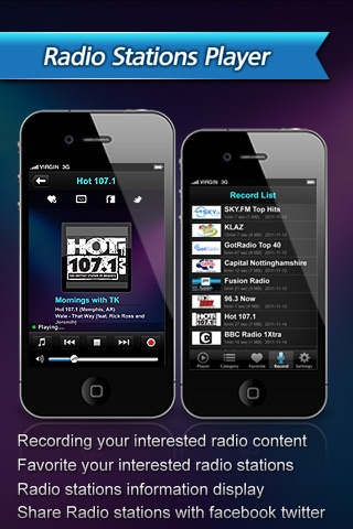 All-in-1 Radio (Weather+Clock+Recorder) screenshot 3