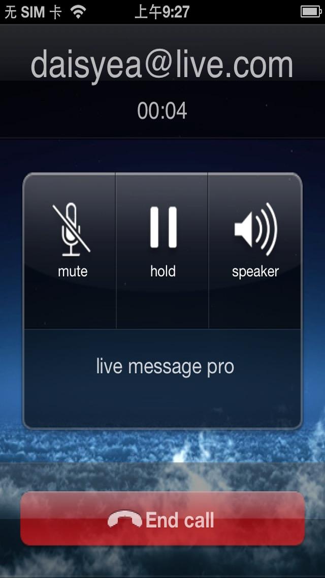 Live Messenger Pro Screenshot 4