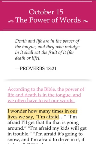 The Confident Woman Devotional screenshot 3