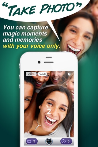 Voice Command Camera screenshot 1