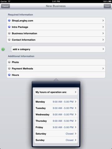 Screenshot of ShopCity.com Affiliate Application