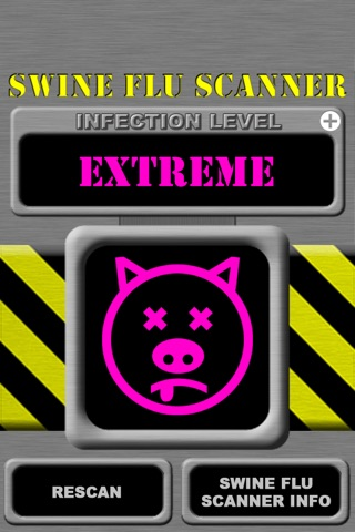 Swine Flu Scanner Free (Fingerprint Test) screenshot 1