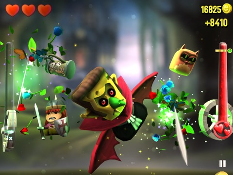 Screenshots of KingHunt - The Next Generation Slicing Game for iPad