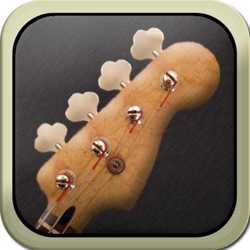 ベースギターのチューナー