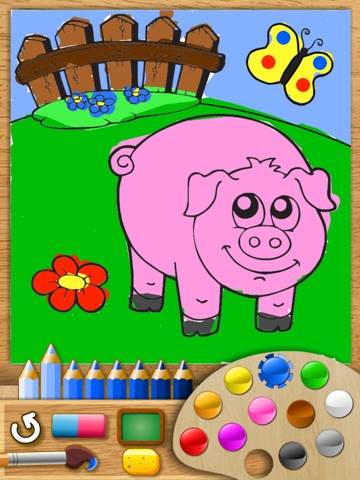 Abby Monkey® - Painter Star: Draw and Color - My First Coloring Book screenshot 2