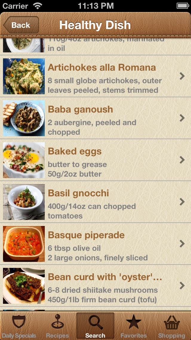 Screenshot #9 for World Recipes - Cook World Gourmet