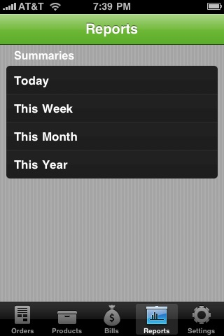 Screenshot of MobileBooks Lite