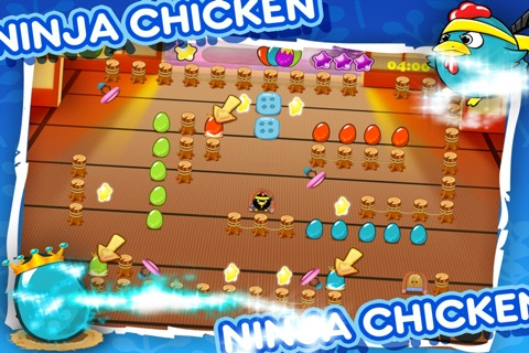 Ninja Chicken Egg Collector screenshot 3