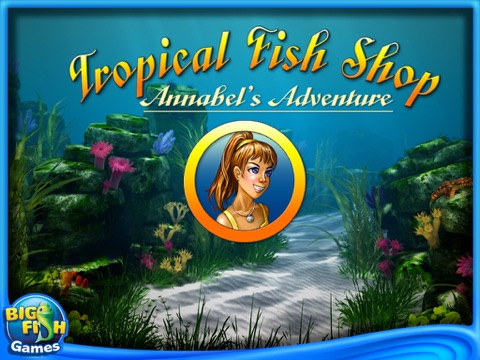 Tropical Fish Shop: Annabel's Adventure HD screenshot 1