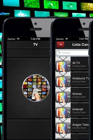 TV España-toda la TDT para ver la programación screenshot 1
